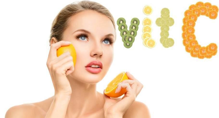 vitamin c có làm đẹp da